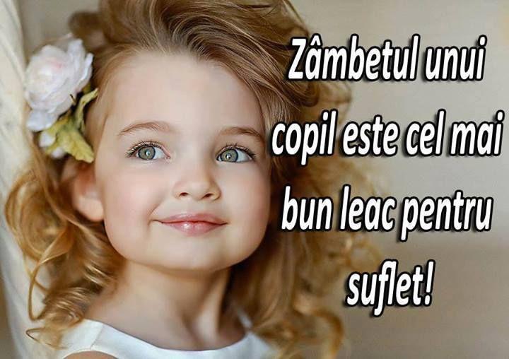 Dedicăm săptămâna copilăriei și zâmbetelor! Nu uitați să zâmbiți și să gândiți pozitiv!:)