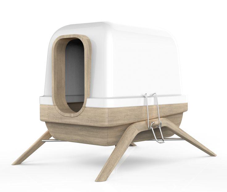 les 25 meilleures id es de la cat gorie liti re caisse sur pinterest bacs liti re pour chat. Black Bedroom Furniture Sets. Home Design Ideas