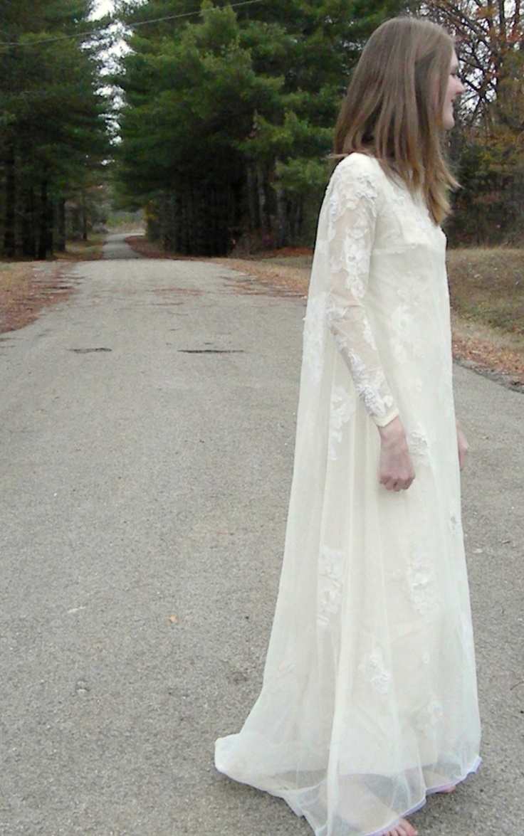 1960s wedding gowns | 1960s Vintage Wedding Dress by LasterdayVintage on Etsy