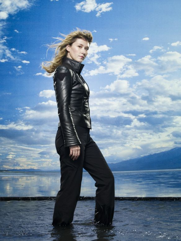 Jewel Staite as Dr. Jennifer Keller on Stargate Atlantis TV Series