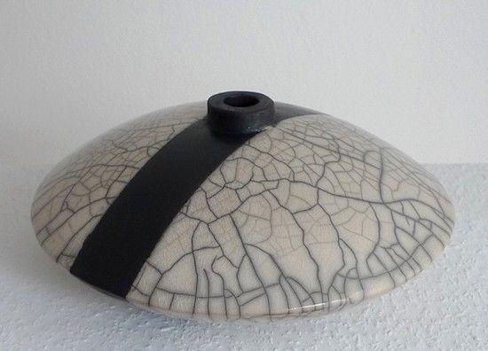 Keramik Dose von Margit Hohenberger