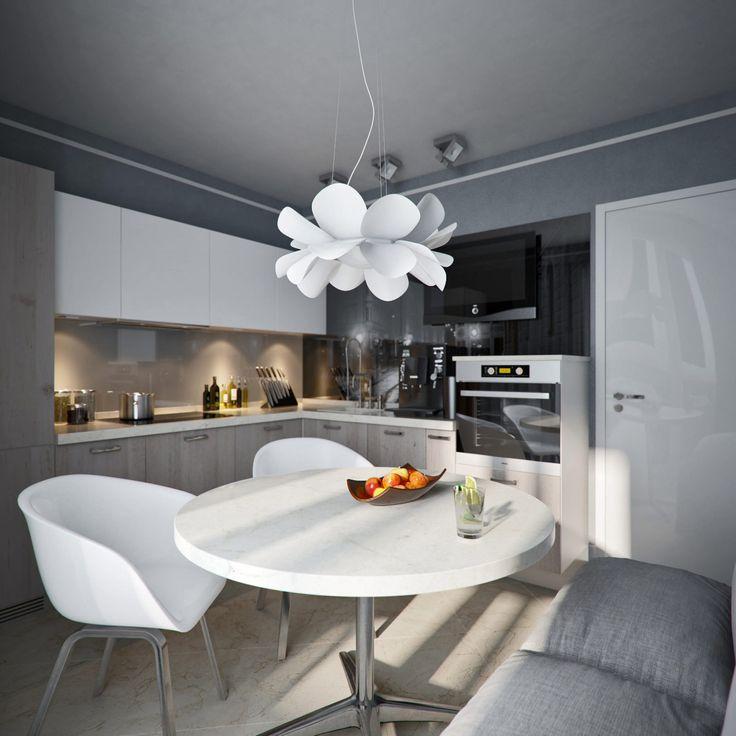 Дизайн однокомнатной квартиры 38 метров в доме серии КОПЭ