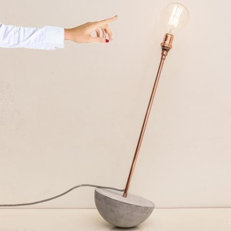 UNBREAKAbulb - a rocking lamp by Vincent Buret - The Third Row