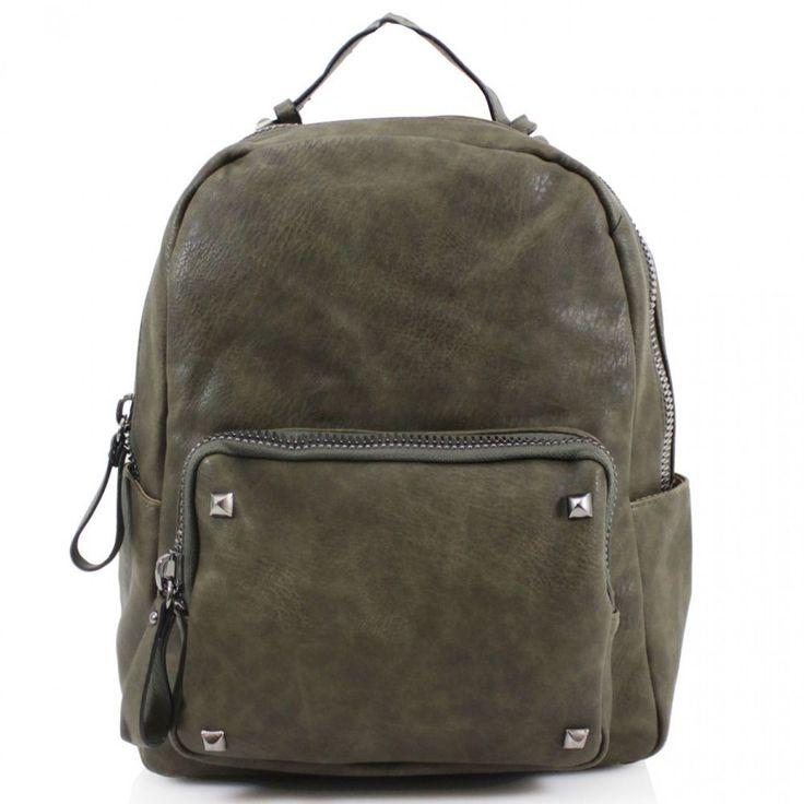New Women Girls Studded Design Backpacks Rucksacks Ladies Gym Shoulder Bags #Clicktostyle #Backpack