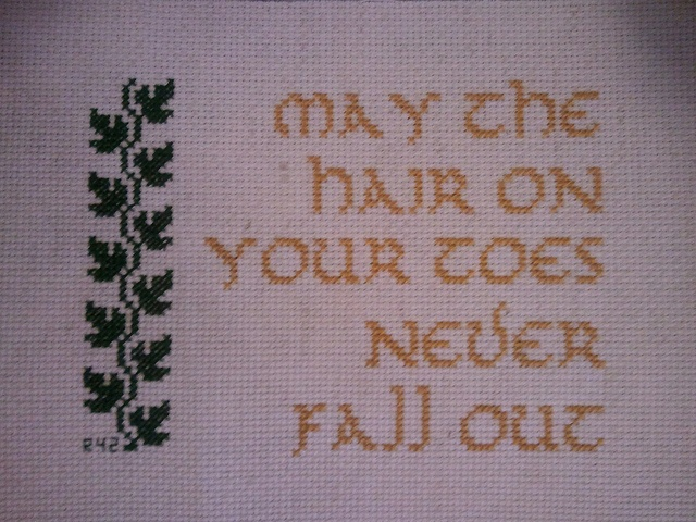 Hobbit by ruby0042 - Can't wait for the movie. I mean movies, plural. Lame decision, awesome cross stitch.