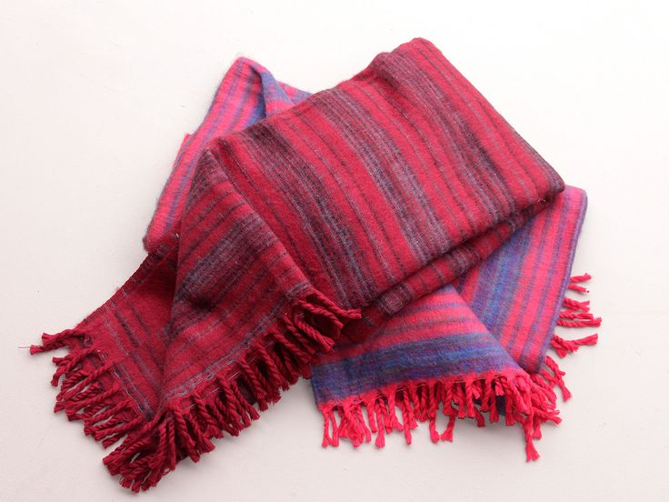 Woolly Blankets Red