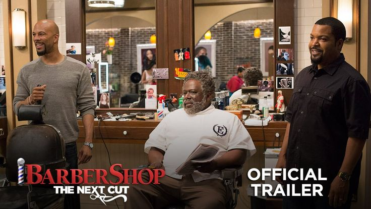 Barbershop: The Next Cut starring Ice Cube, Cedric the Entertainer, Regina Hall, Anthony Anderson, Eve, JB Smoove, Lamorne Morris, Sean Patrick Thomas, Tyga, Deon Cole, Common & Nicki Minaj | Official Trailer #2 | In theaters April 15, 2016