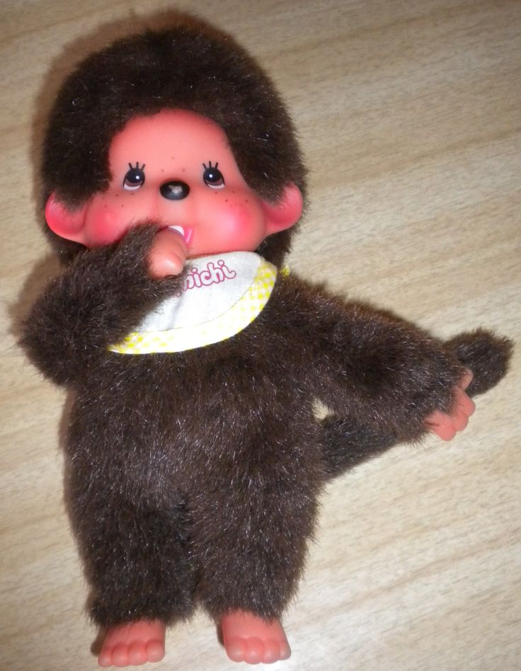 Monchichi! I gave one to my nephew because he called me Monkey. I was only 11 then. :)