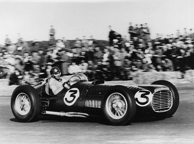 BRM V16 Fangio Silverstone 1953