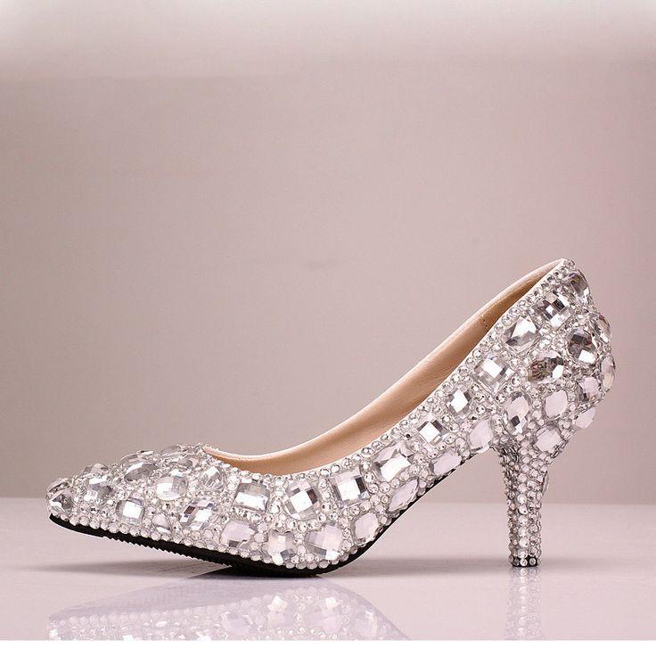 chaussures femme de soir e chaussure mariage aux strass. Black Bedroom Furniture Sets. Home Design Ideas