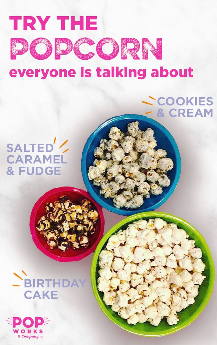 Looking for something to amp up your holiday celebrations? With these new creative popcorn flavors, you can add some extra flavor to any occasion, whether it is a gift for your holiday host, an easy alternative to the #pinterestfail recipe, or game nights with your friends. POP WORKS & COMPANY is taking snacking to a whole new level with their light and airy popcorn, plus sweet glazes and drizzles and sprinkle bits. Try a POP WORKS & COMPANY Custom Popcorn Box, shipped right to your door.