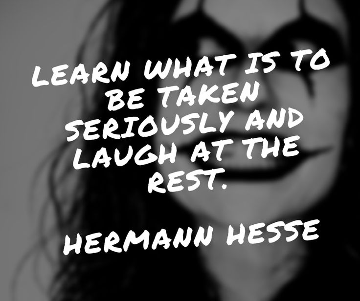 Learn what is to be taken seriously and lauch at the rest.  #quote #quotes #life