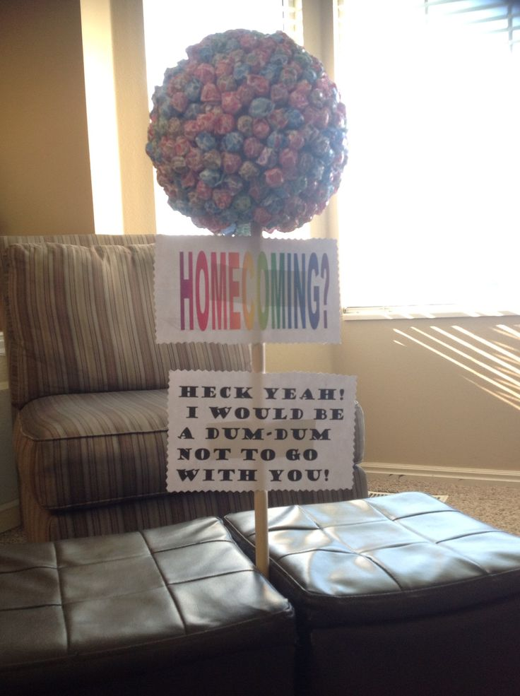 Idea for homecoming answer