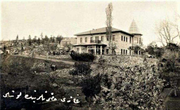 I. Çankaya Köşkü - 1927. İsmail Uğurlu Tunalı Koleksiyonu'ndan...