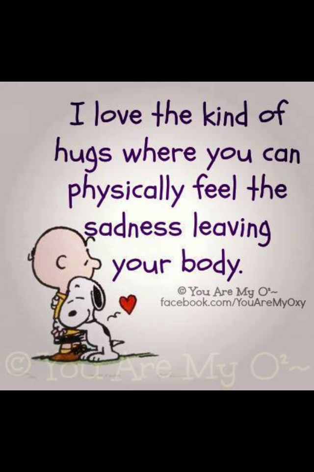 Those are the best hugs :)
