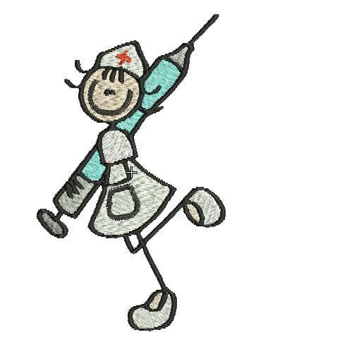 cartoon nurse