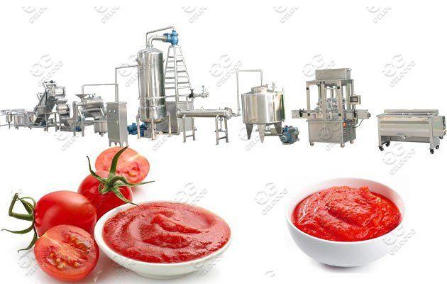 Tomato Paste Making Machine Line Tomato Paste Mango Sauce Blueberry Sauce