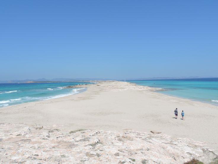 Formentera, Ibiza - Playa de Ses Illetes Semana Santa 2014