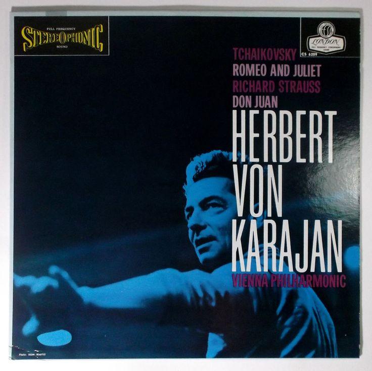 Karajan / Vienna Philharmonic ROMEO AND JULIET London Records CS6209 1E/1E NM