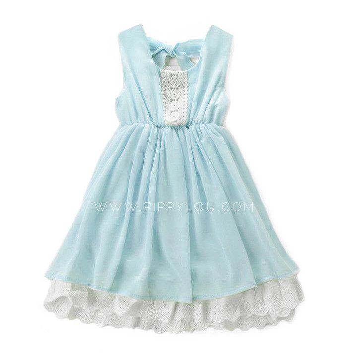 Skies Are Blue Dress PERECT girls Easter Dress