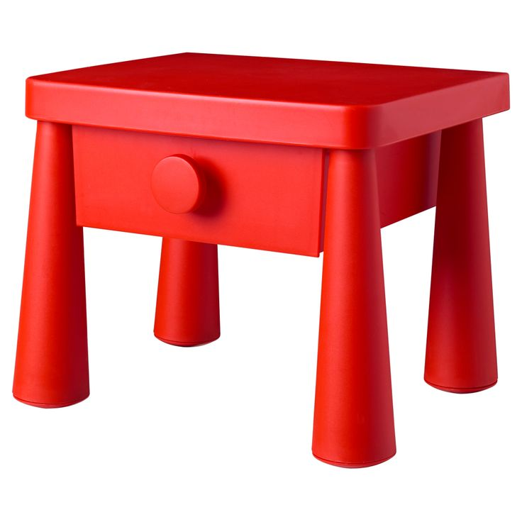 red nightstand tables 3