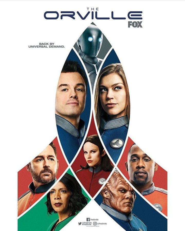 The Orville cast, deco | Geek Me! TV in 2019 | Tv series 2017, Drama