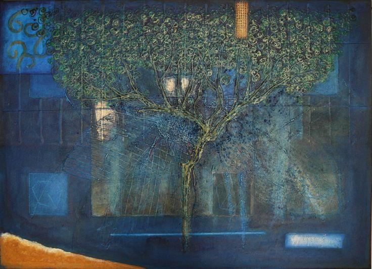 7-2015, 50x70 cm, mixed media on canvas