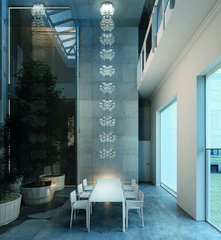Amazing lighting by De Majo Murano Glass! #sll #spotlumiereled #interiordesign #designdubai #designer #new #followme #homedesign #designs #instadesign ... & 33 best Luminaires du0027exception images on Pinterest | Light fixtures ...