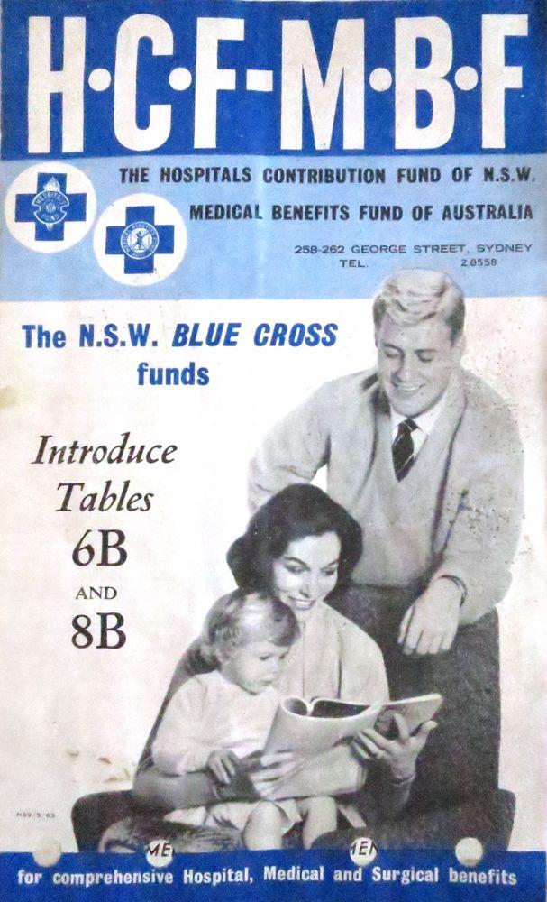 HCF-MBF Medical Funds Australia.