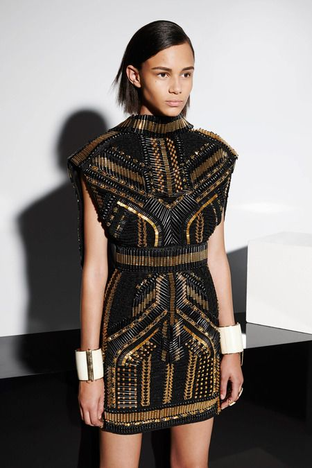 Balmain   Resort 2015 Collection   Work of art.  Olivier Rousteing is a genius and my favourite designer :)