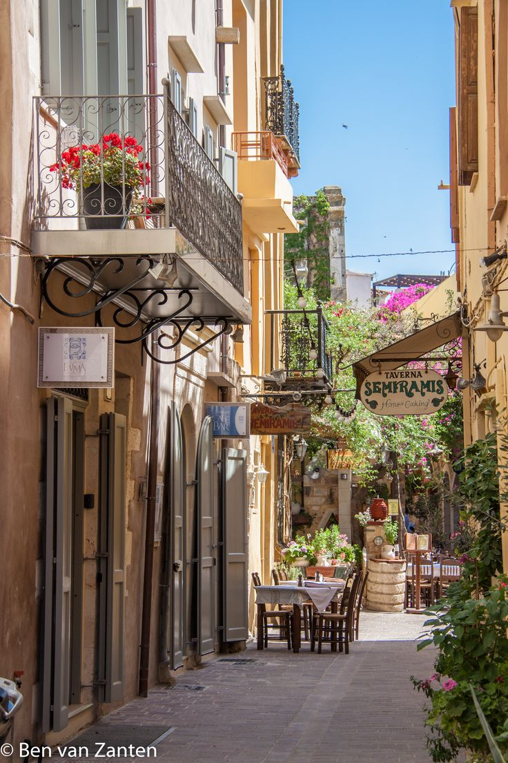 Straatje in Chania