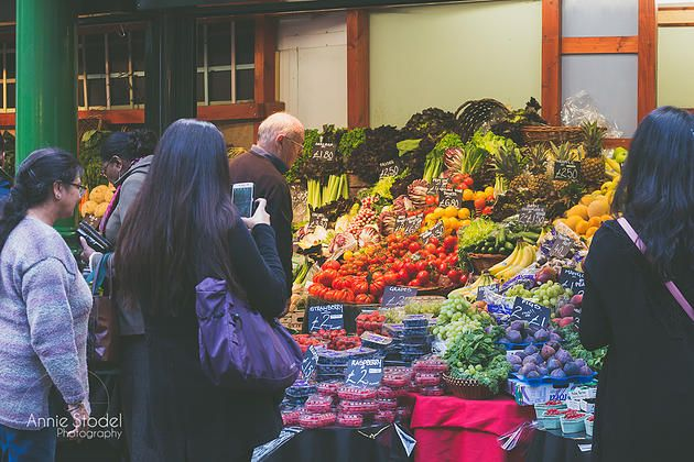 Vegetable Vendor, Borough Market
