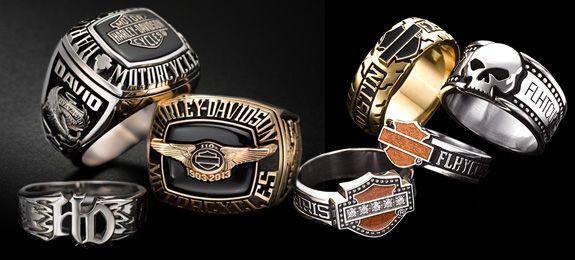 Harley-Davidson® Custom Rings at Jostens | Amy's