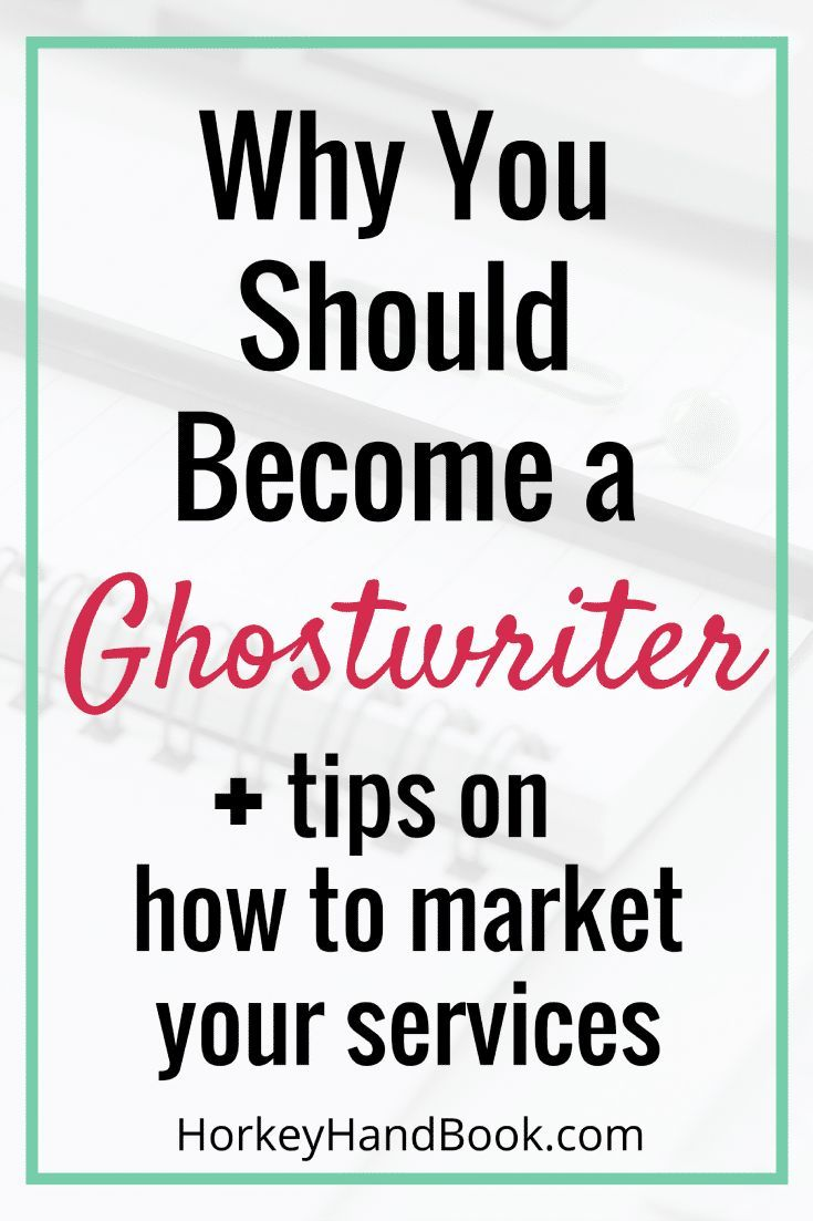 Ever thought of becoming a ghostwriter? Here's how you can turn ghostwriting into a career.  via @ghorke