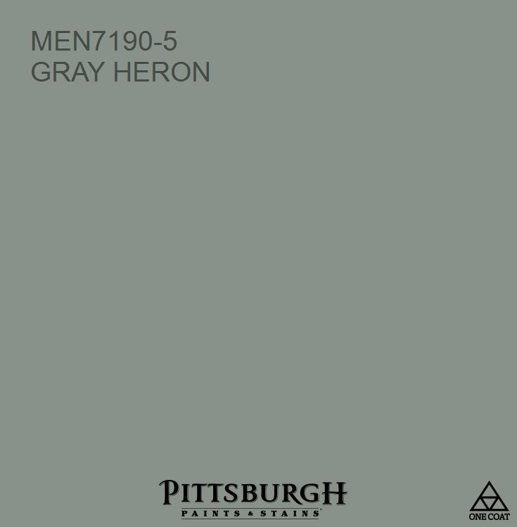 menards exterior house paint. gray heron a green hue from the pittsburgh paints and stains® paint color palette available at menards exterior house