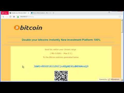 Bitcoin Doubler 2018|2019 | double your bitcoin every hour