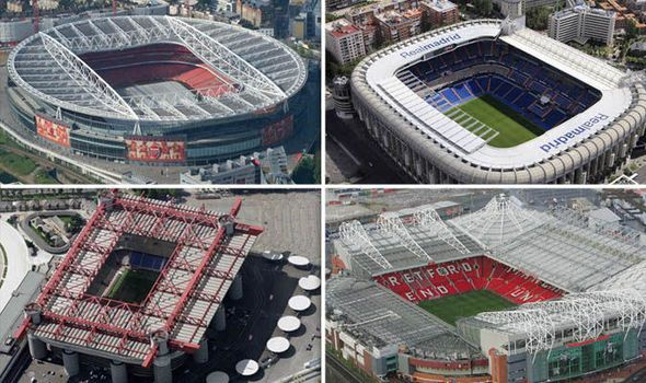 Famous football stadiums: Can you name these iconic arenas from the air?   via Arsenal FC - Latest news gossip and videos http://ift.tt/2kIvGsI  Arsenal FC - Latest news gossip and videos IFTTT