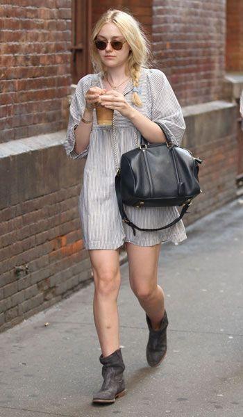 Dakota Fanning Style: Best Dresses & Fashion