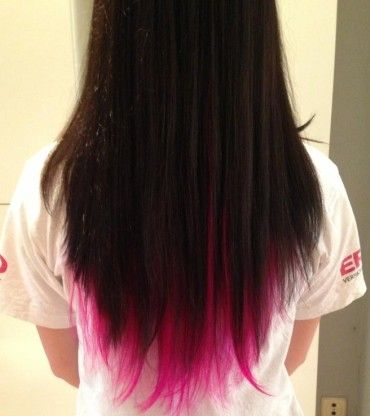 (¯`·.¸HairWeb.de • Haare färben: Dip dye hair - Beispiele - Anleitung