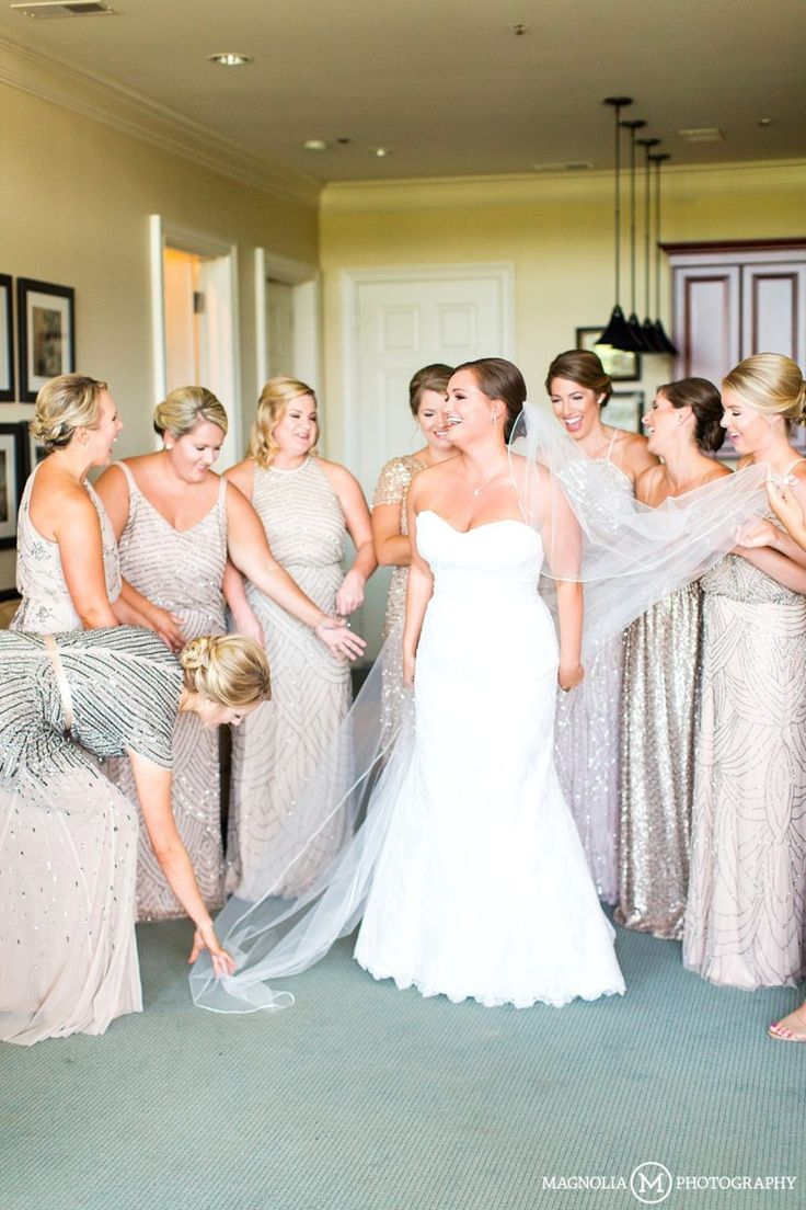 122 best taupe champagne gold bridesmaids dresses images on champagne gold bridesmaid dress from adrianna papell river landing wallace nc wedding photographer ombrellifo Choice Image