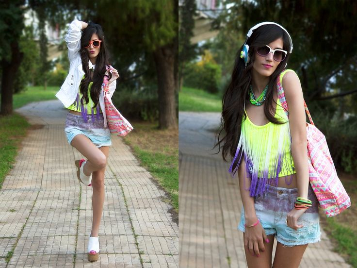 """""""She shoots colors all around """" - FaShionFReaks"""