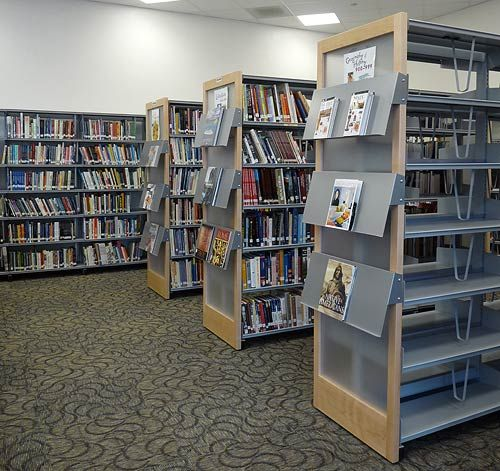 74 Best Library Signage Images On Pinterest Library