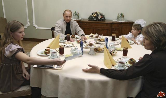 Vladimir Putin Family   Putin Family