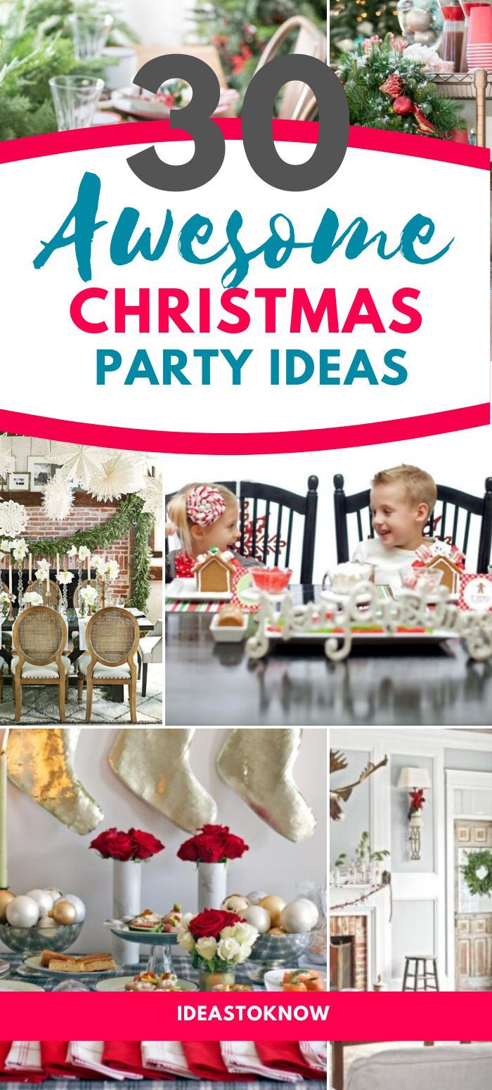2020 Best Christmas Party Ideas 51 Best Christmas Party Ideas in 2020   Traditional christmas