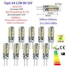 10 x G4 G9 1,5W 2W 3W Stiftsockel LED Leuchtmittel Birne Lampe Warmweiß Weiß