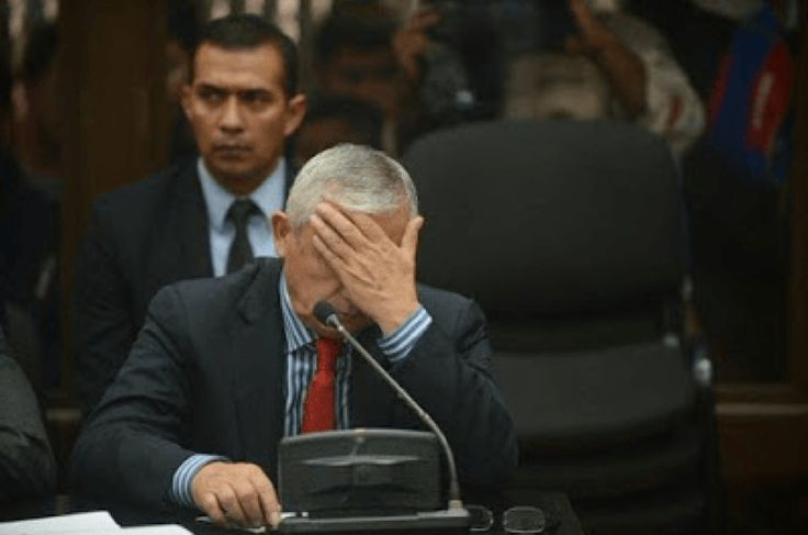 Otto Perez Molina: Moment ex-Guatemalan president learnt he is headed for prison hours after his resignation - http://www.nollywoodfreaks.com/otto-perez-molina-moment-ex-guatemalan-president-learnt-he-is-headed-for-prison-hours-after-his-resignation/