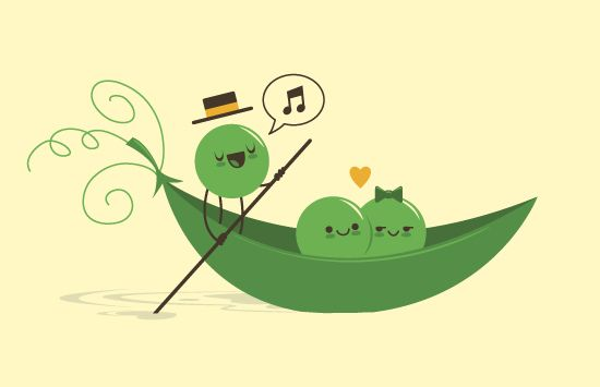 45 Cute Illustrations By Skinny Andy | Design | Graphic Design Junction