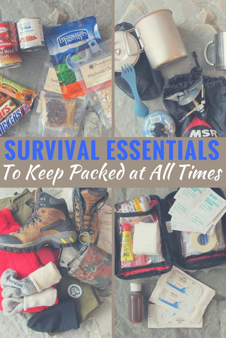 Survival Essentials to Keep Packed at All Times - His 'bug-out bag' contains items most of us would never think to pack in an emergency — but they might be the difference between life and death.