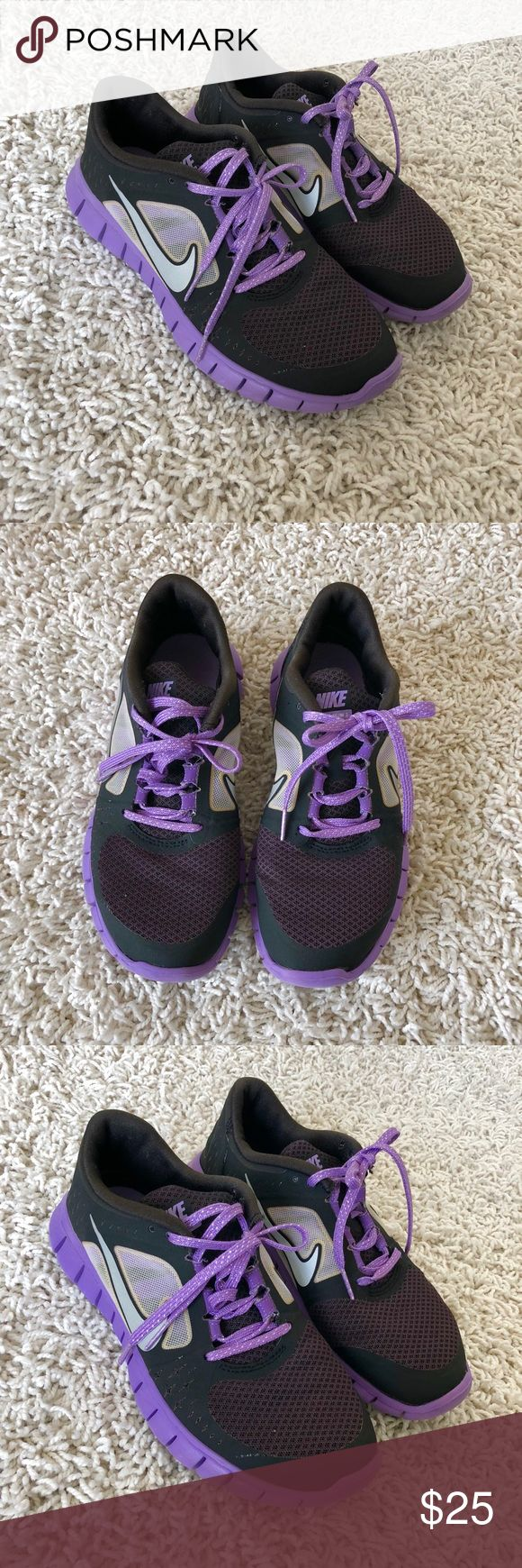 Nike Tennis Shoes Nike Tennis Shoes in Great Condition. Gorgeous purple color! Size 6. Comes from a smoke and pet free home. I ship same or next day! Make an offer :) Nike Shoes Athletic Shoes http://feedproxy.google.com/fashionshoes11