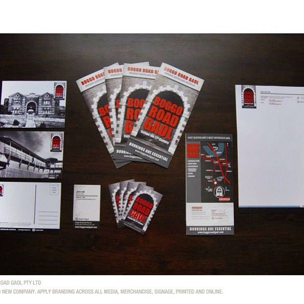 Taybian Marketing & Design worked with Bogho Road Gaol to brand their product and apply across all media and collateral #graphicdesign #branding #taybiandesign #printing #websites #boggoroadgaol #merchandise
